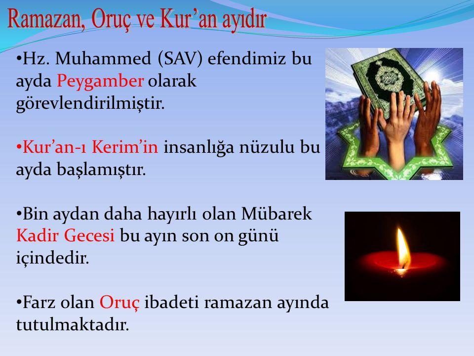 Hz.Muhammed (SAV) efendimiz bu ayda Peygamber olarak görevlendirilmiştir.