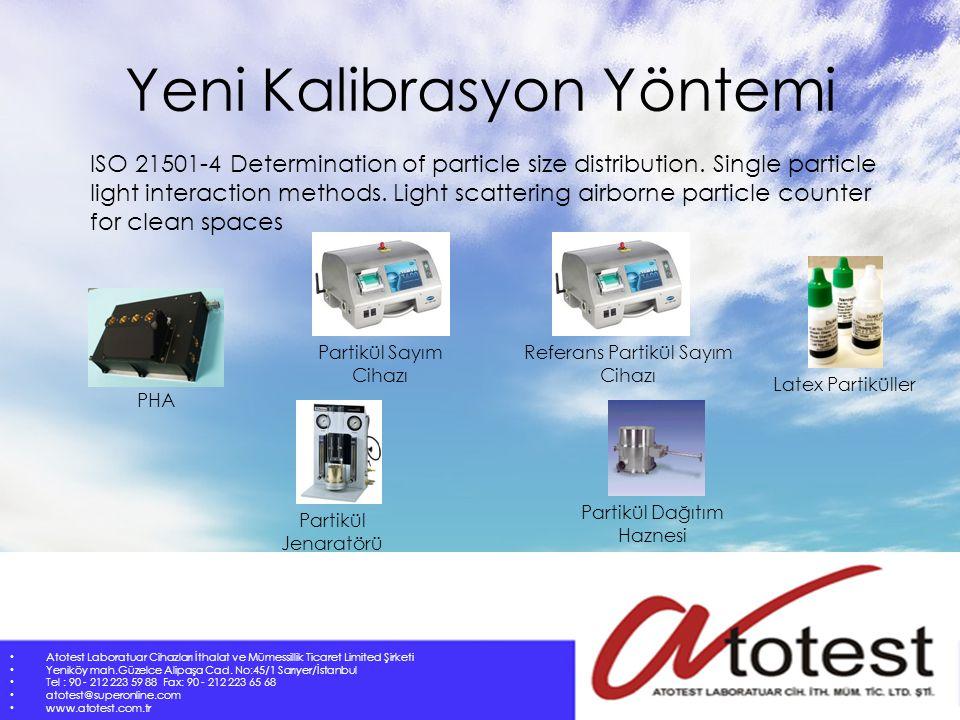 SONUÇ Atotest Laboratuar Cihazları İthalat ve Mümessillik Ticaret Limited Şirketi Yeniköy mah.Güzelce Alipaşa Cad.