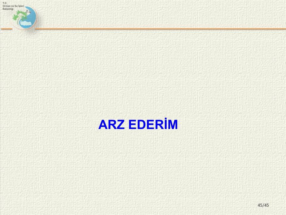 ARZ EDERİM 45/45
