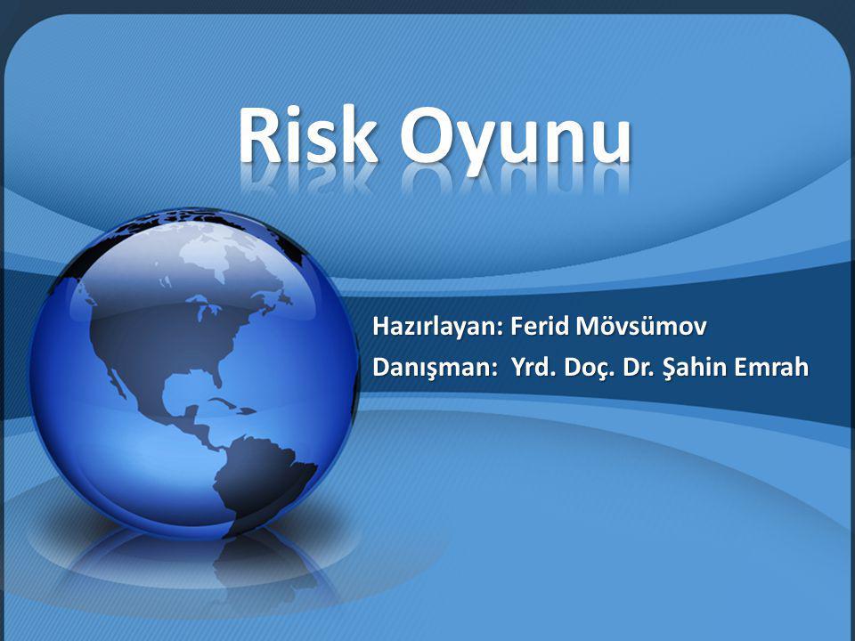 Klasik Risk Oyunu Hakkında Risk Oyunu Nasıl Oynanır.