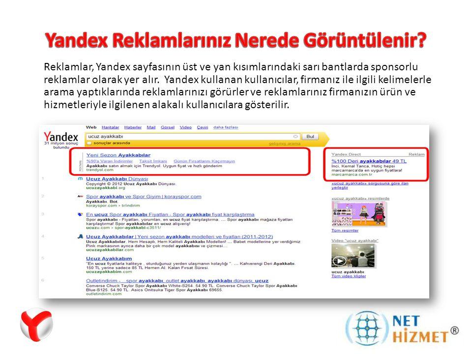 Yandex Reklamları için daha detaylı bilgi almak istiyorsanız bize ulaşın.