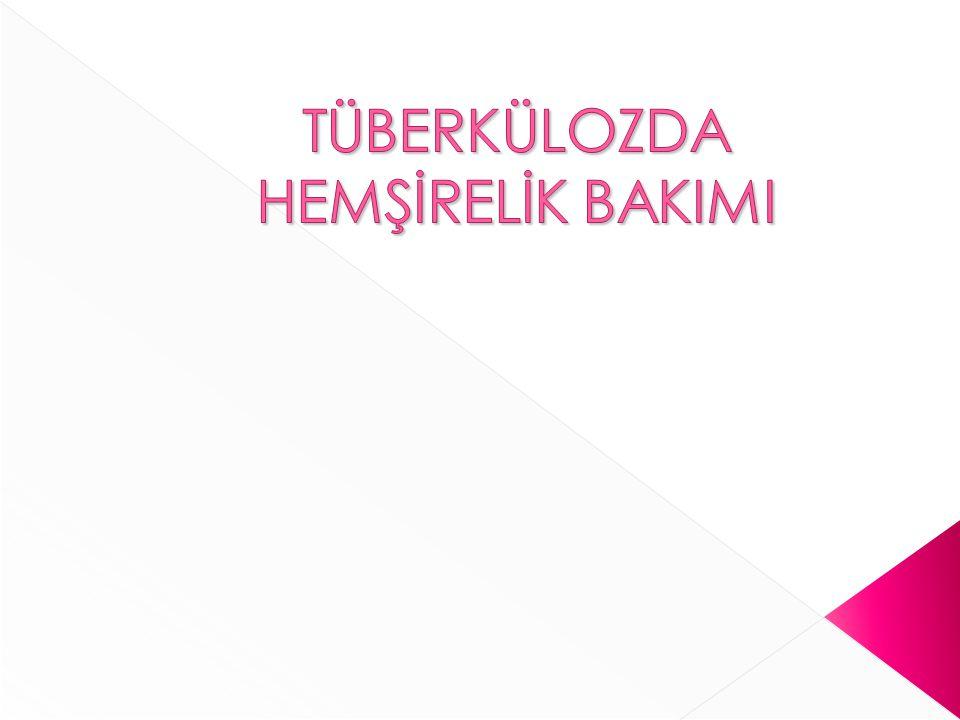 Tüberküloz tehlikeli fakat tedavi edilebilen bir hastalıktır.