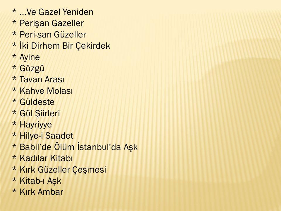 Efsane Güzeller Türk klasik şiirinin –nâm-ı diğer Divân Edebiyatının- özenle çatılmış nakışlı bir salonudur.