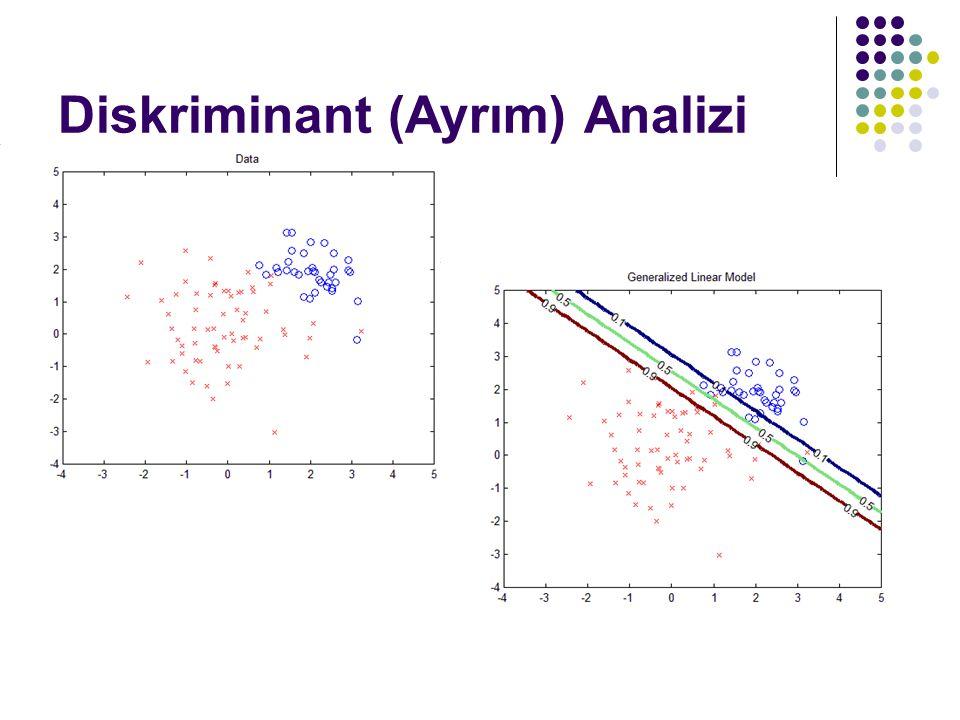 Diskriminant (Ayrım) Analizi