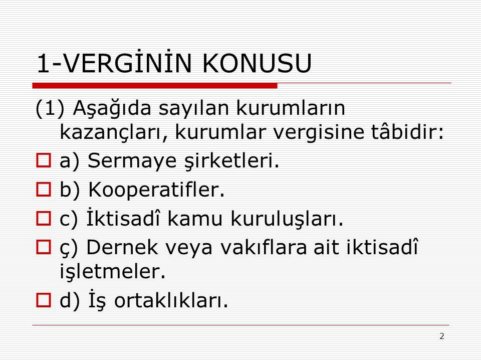 83 3- Yurt Dışı Zarar Mahsubu  Türkiye de indirim konusu yapılan yurt dışı zararın, ilgili ülkede de mahsup edilmesi veya gider yazılması halinde, Türkiye deki beyannameye dahil edilecek yurt dışı kazanç, mahsup veya gider yazılmadan önceki tutardır.