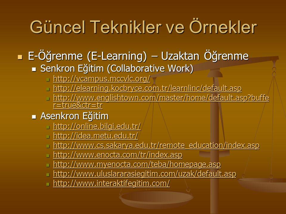 """Kaynaklar """"Bilgisayar Destekli Öğretim Ve Uygulamalar""""; Dr. Yavuz Akpınar 1999 """"Bilgisayar Destekli Öğretim Ve Uygulamalar""""; Dr. Yavuz Akpınar 1999 """"G"""