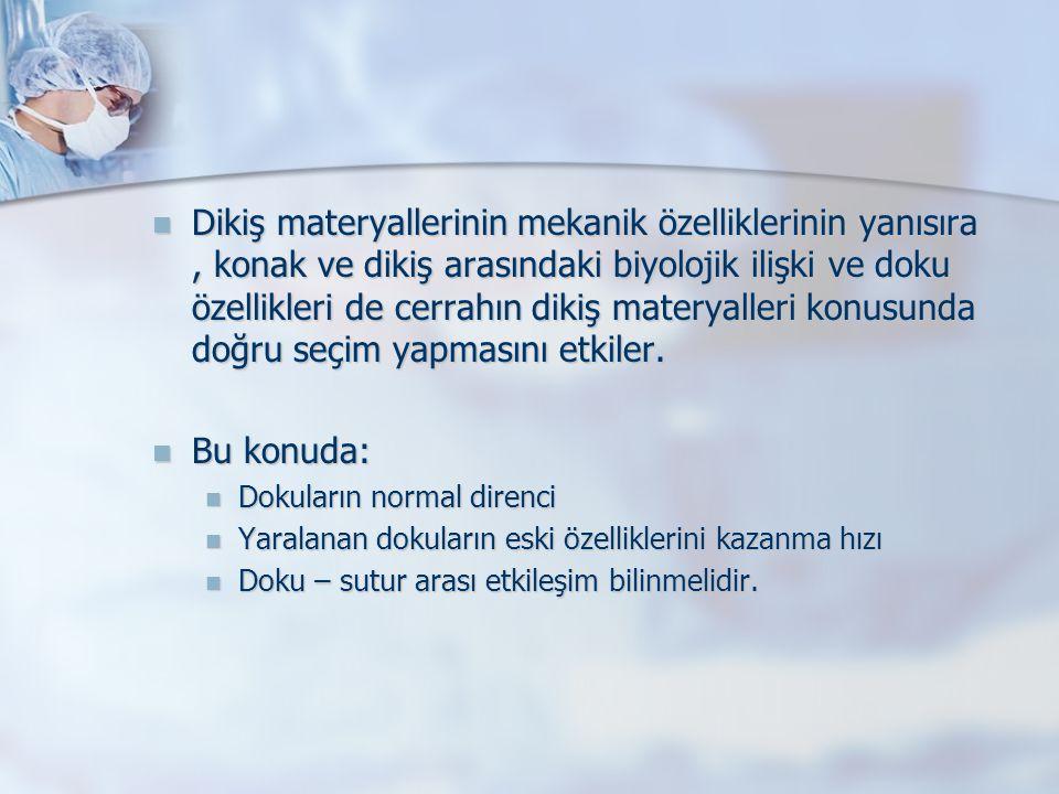 Sutur paketleri Dikiş paketinin üzerinde yazan bilgileri değerlendirmek yararlıdır.