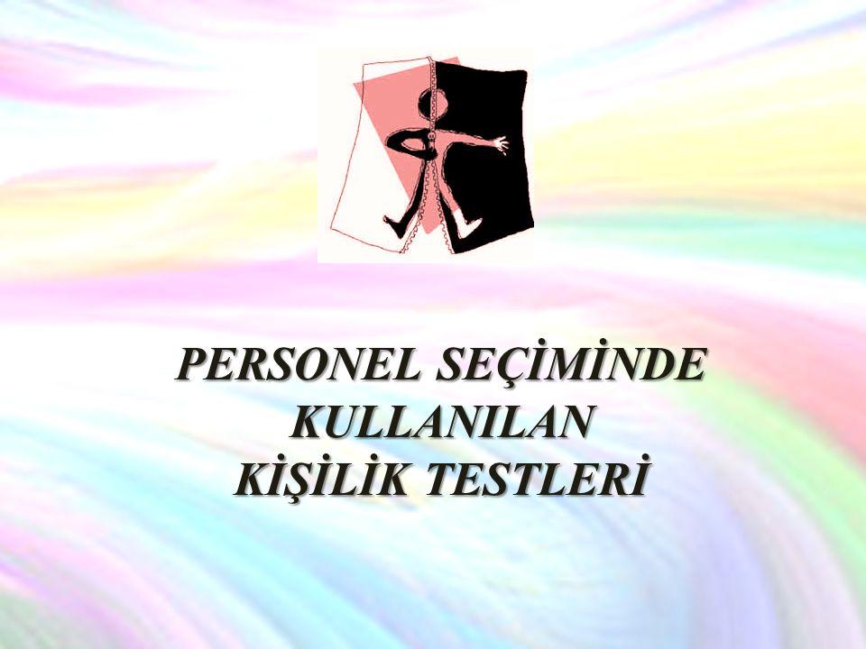 SIFAT LİSTESİ (Adjective Check List): ACL bireylerin kişilik özelliklerinin saptanmasına yönelik olarak geliştirilmiş bir kişilik testidir.