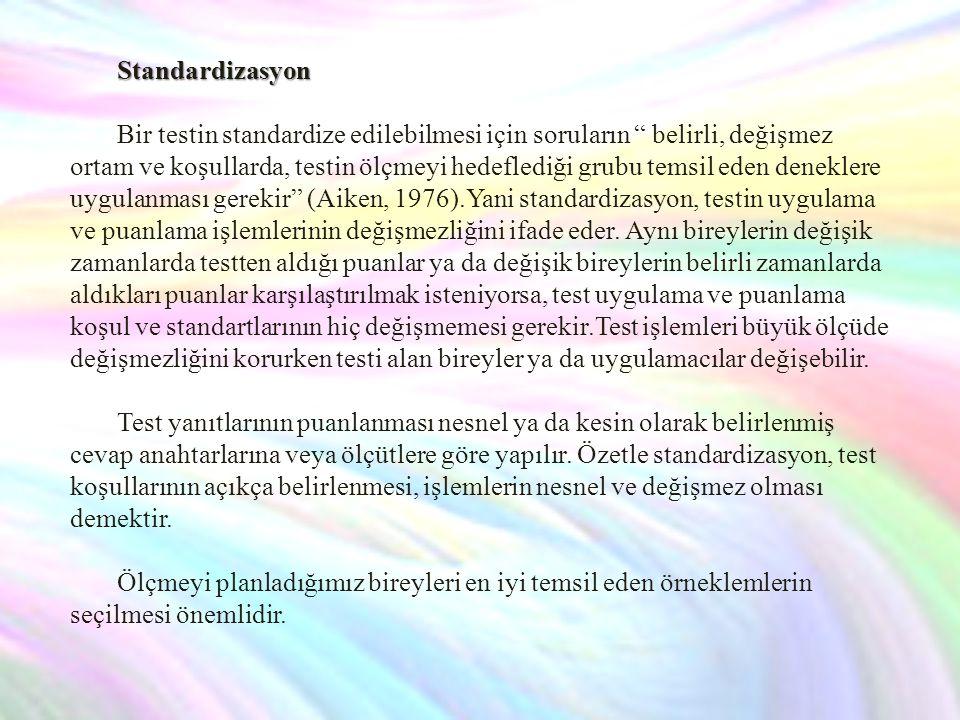 Hacettepe Kişilik Envanteri: Asıl formu Türkçe olup ölçtüğü davranış/nitelik bireyin kişilik özellikleri; kişiliğine ilişkin sorunlar, kişisel, sosyal ve genel uyum düzeyleridir.