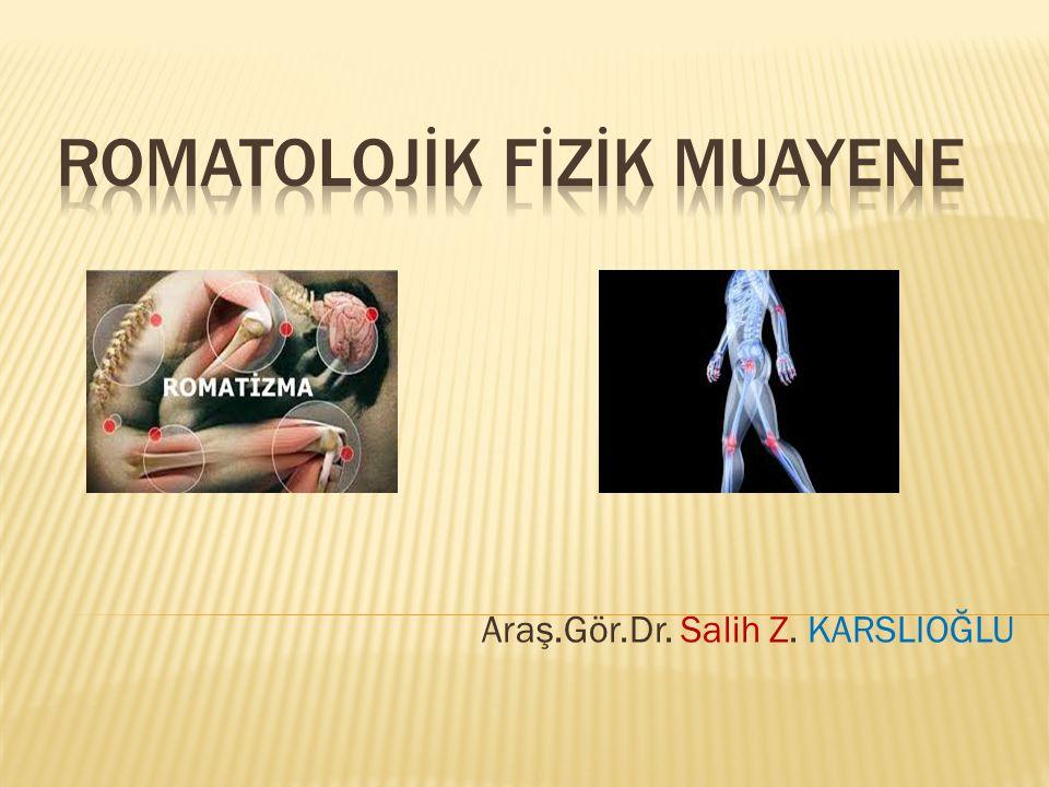 Araş.Gör.Dr. Salih Z. KARSLIOĞLU