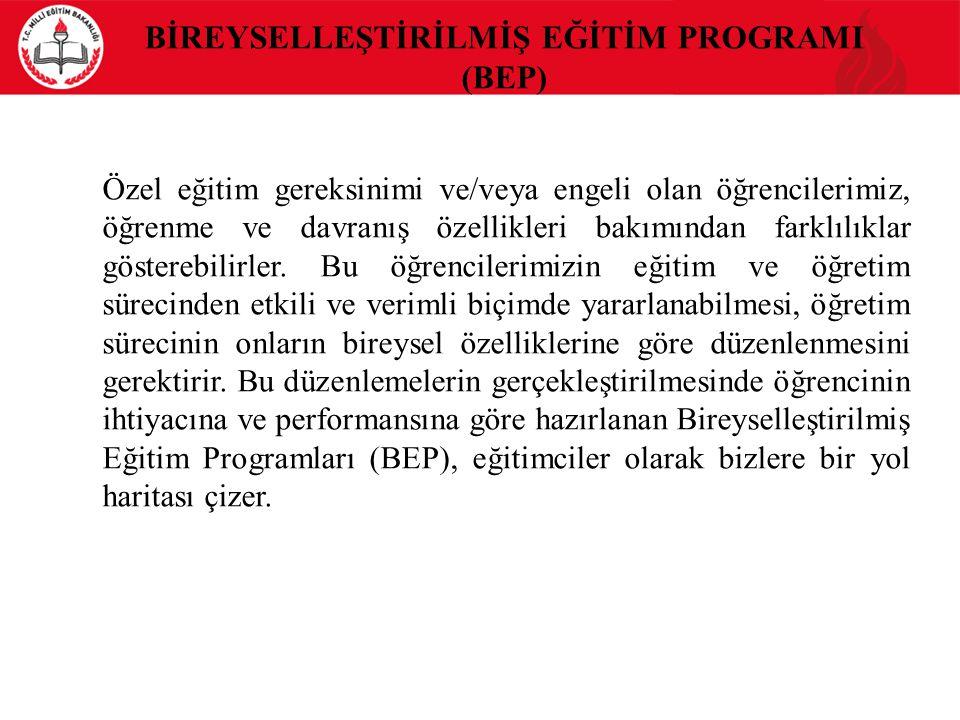 Kaynakça Bütünleştirme Kapsamında Eğitim Uygulamaları Öğretmen Kılavuz Kitabı (Özel Eğitimin Güçlendirilmesi Projesi) Haziran 2013, MEB Özel Eğitim ve Rehberlik Hizmetleri Genel Müdürlüğü