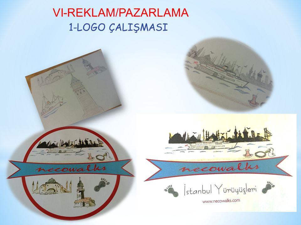 VI-REKLAM/PAZARLAMA 1-LOGO ÇALIŞMASI