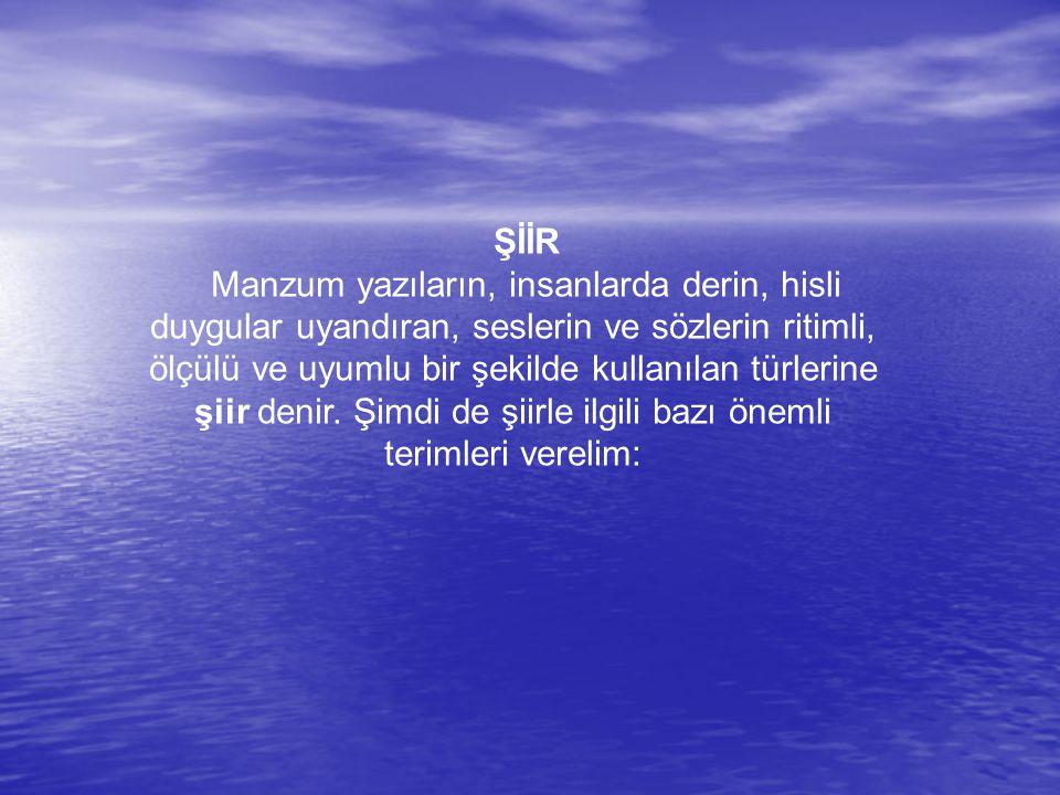 1.Şair Şiir yazan kişilere şair (ozan) denir.