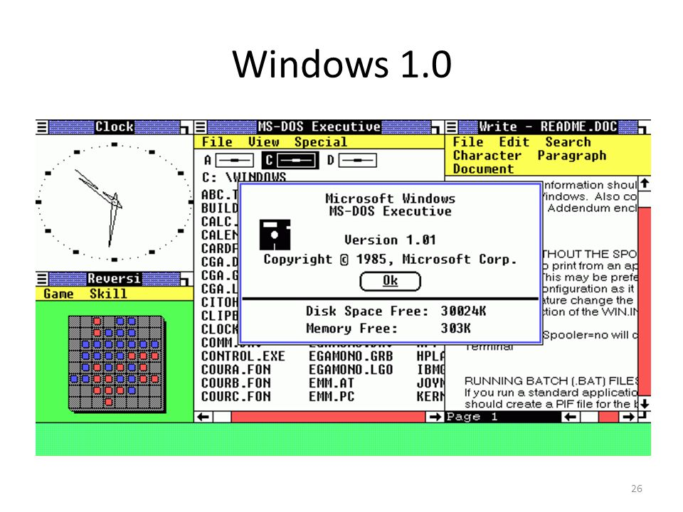 Windows 1.0 26