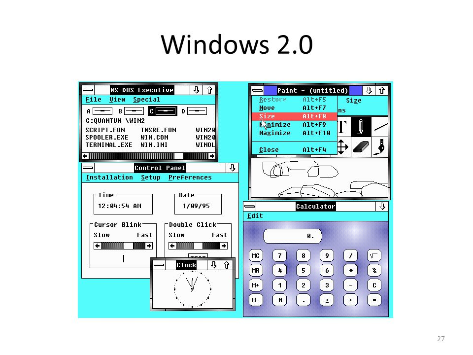 Windows 2.0 27