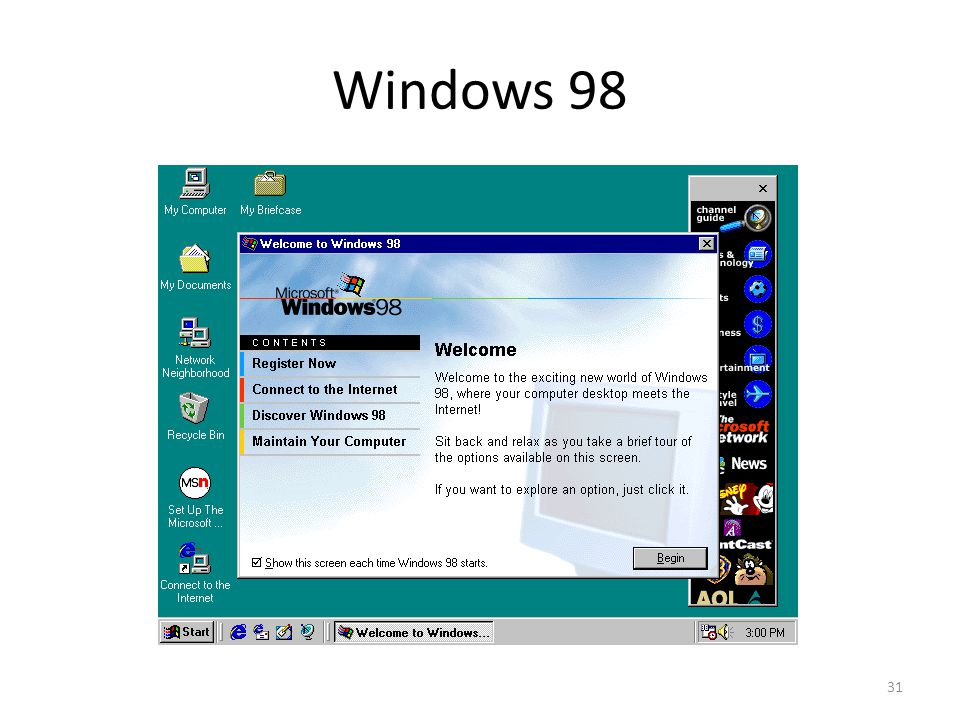 Windows 98 31