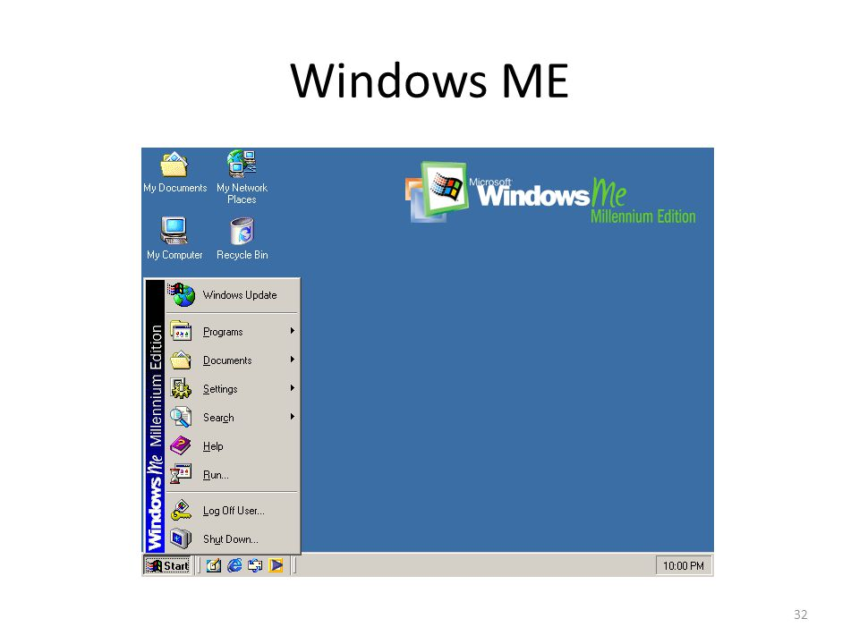 Windows ME 32