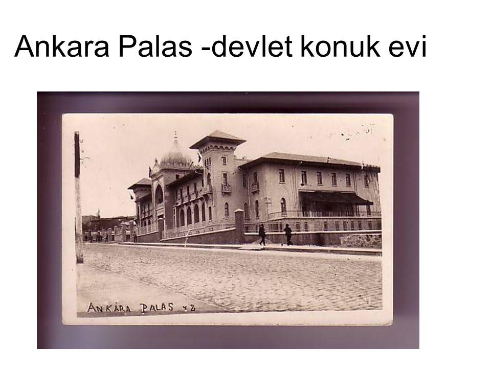 Ankara Palas -devlet konuk evi