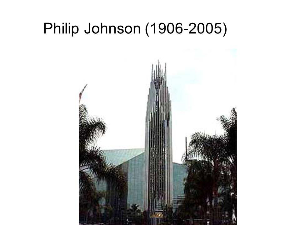 Philip Johnson (1906-2005)