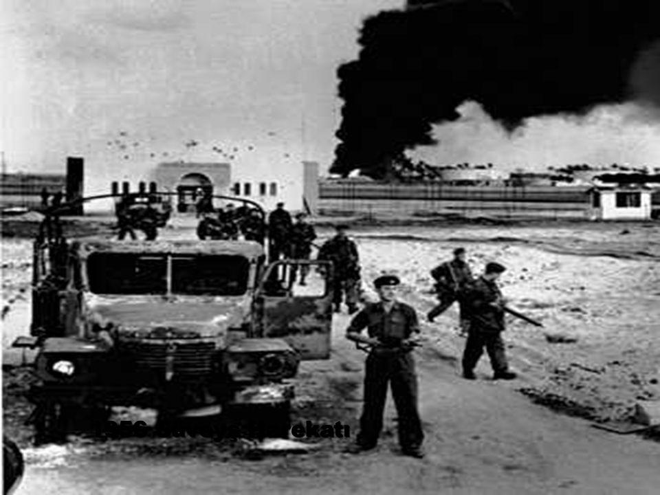 1956 Süveyş Harekatı
