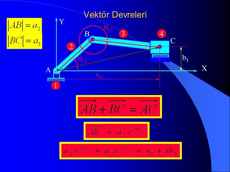 Vektör Devreleri X Y 1 2 34 A B C b1b1  12  13 s 12