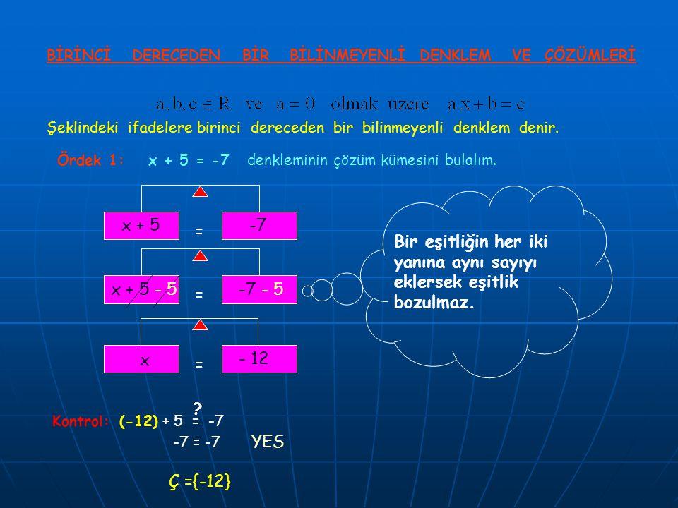 Ördek 1: denkleminin çözüm kümesini bulalım.4x 20 = =.