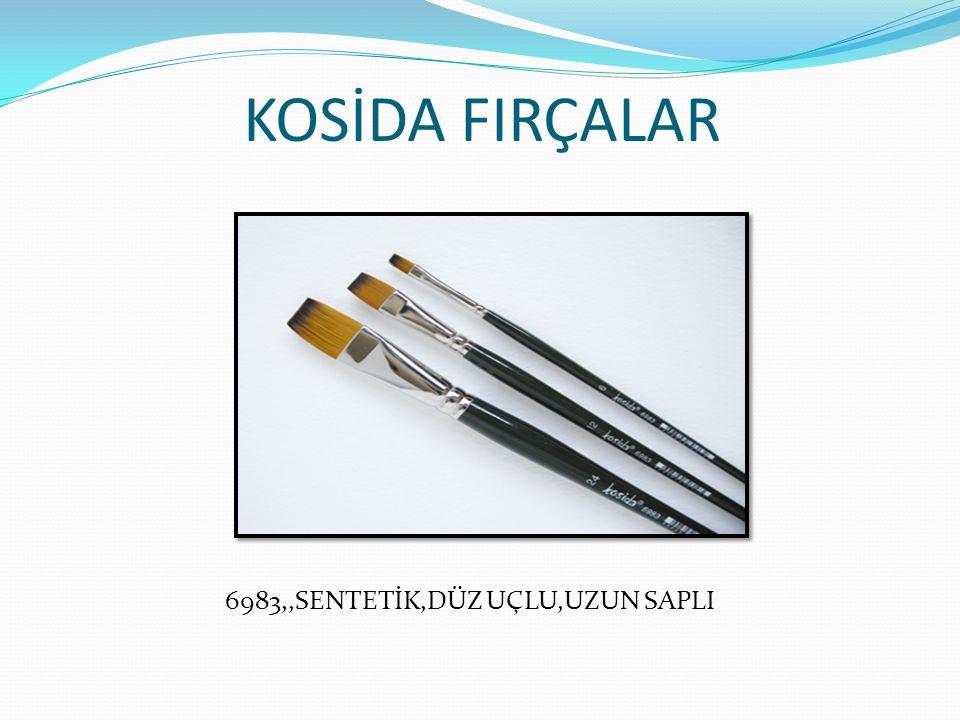 KOSİDA FIRÇALAR 6983,,SENTETİK,DÜZ UÇLU,UZUN SAPLI