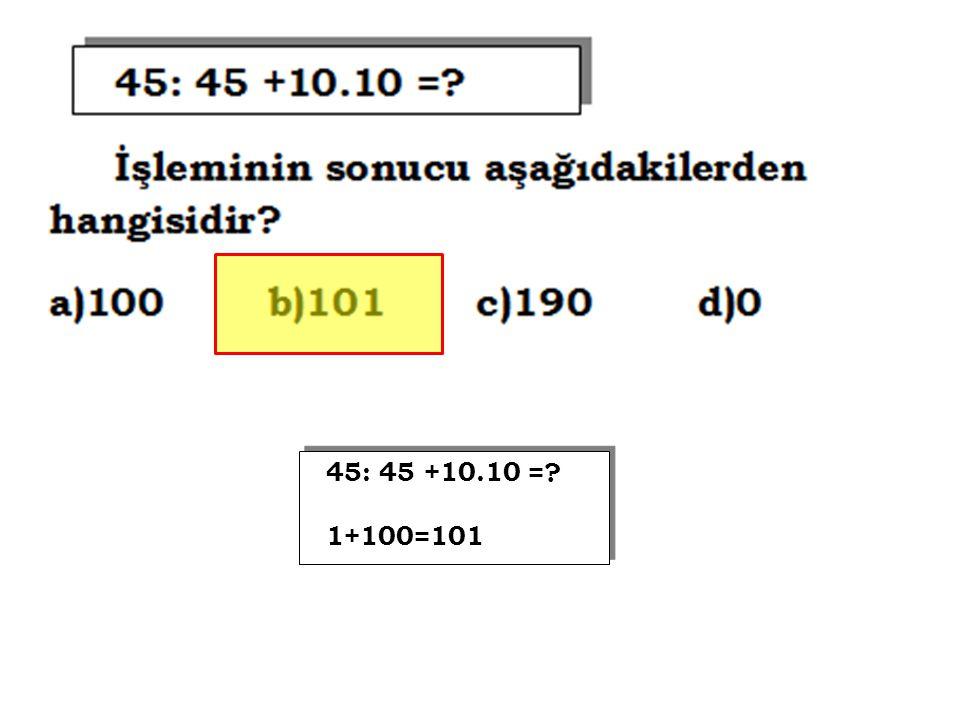 (25-15) : (30 : 3) =? 10 : 10=1 (25-15) : (30 : 3) =? 10 : 10=1