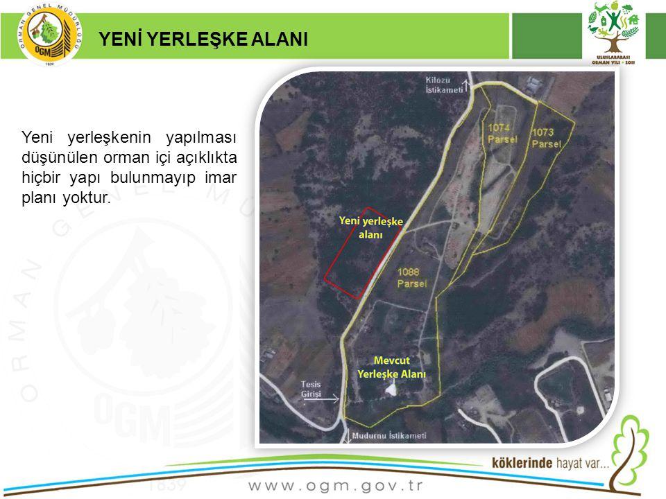 16/12/2010 Kurumsal Kimlik 6 YENİ YERLEŞKE ALANI Yeni yerleşkenin yapılması düşünülen orman içi açıklıkta hiçbir yapı bulunmayıp imar planı yoktur.