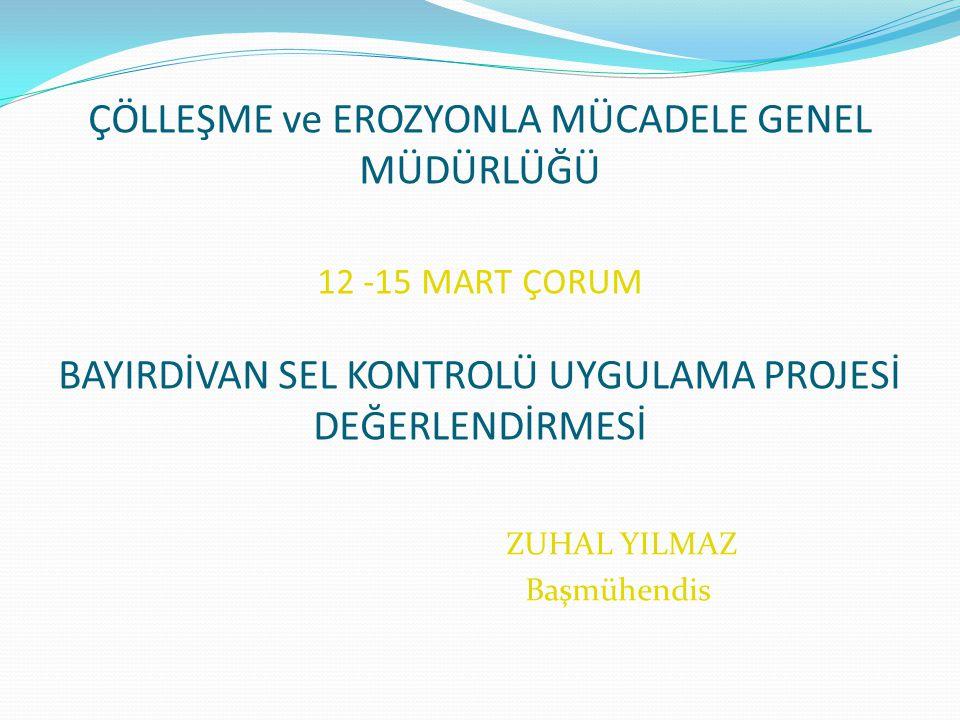 BAYIRDİVAN-1 MİKROHAVZA PLANI TANITIM BİLGİLERİ Mikrohavza'nın İlçesi : Osmancık İlçeye Uzaklığı : 20 km.