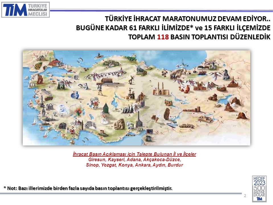 33 2014 EKİM AYI İHRACAT RAKAMLARI ('000 $) EKİM SEKTÖRLER20132014 Değ.