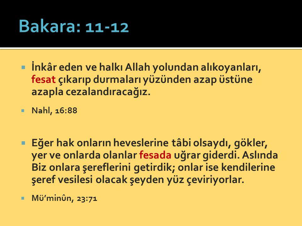  İnkâr eden ve halkı Allah yolundan alıkoyanları, fesat çıkarıp durmaları yüzünden azap üstüne azapla cezalandıracağız.