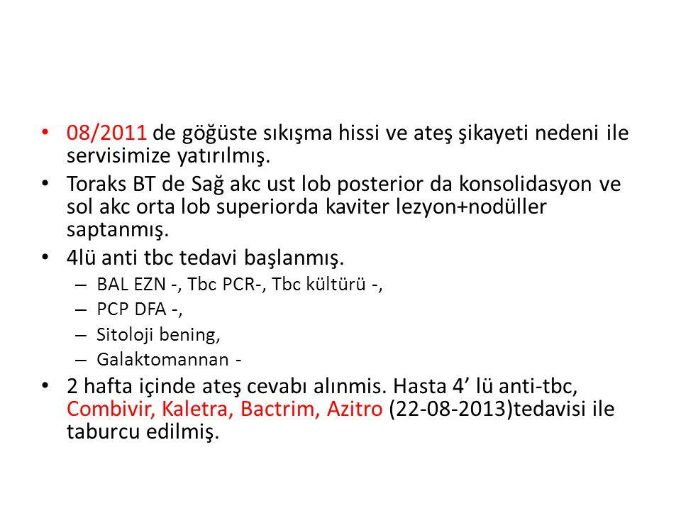 30/09/2011: Servise 2.kez yatırıldı.