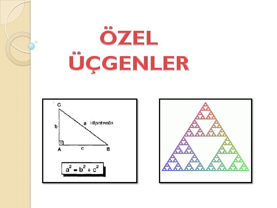 Bir üçgende, açıortay aynı zamanda kenarortay ise bu üçgen ikizkenar üçgendir.