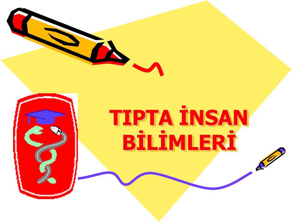 TIPTA İNSAN BİLİMLERİ