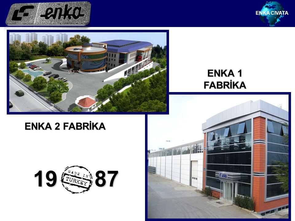 ENKA 1 FABRİKA 19 87 ENKA CIVATA ENKA 2 FABRİKA