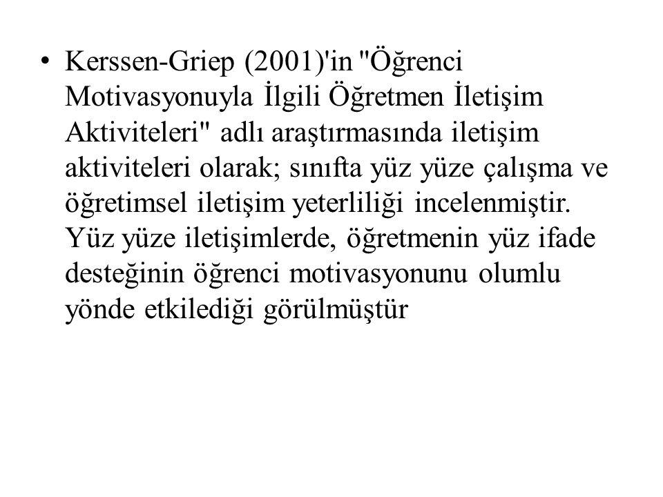Kerssen-Griep (2001)'in
