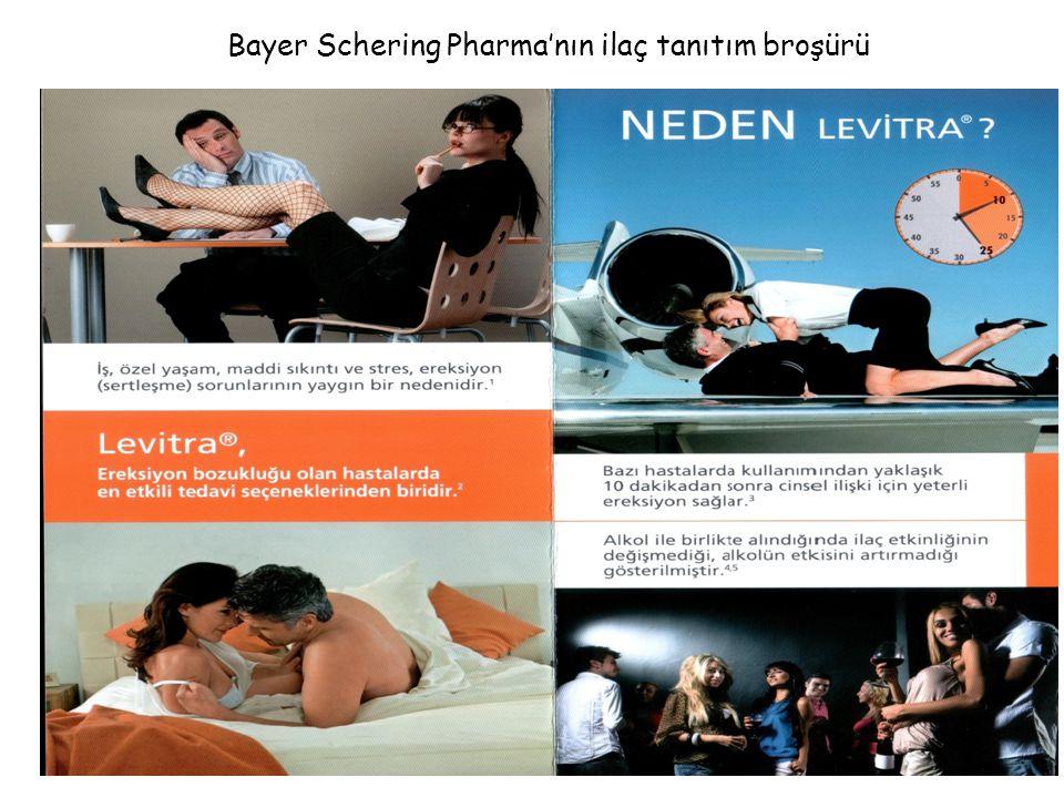 Bayer Schering Pharma'nın ilaç tanıtım broşürü