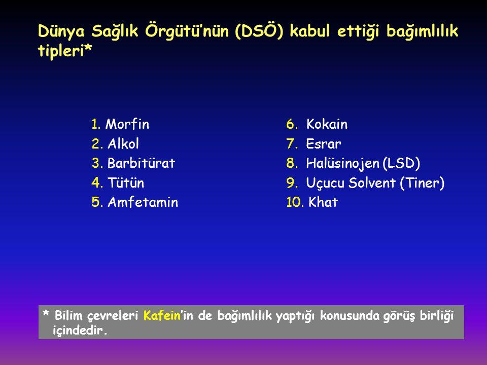 Türkiye'de uçucu solvent (tiner, bali vb.) kullanım yaşının 10'a kadar düştüğü biliniyor