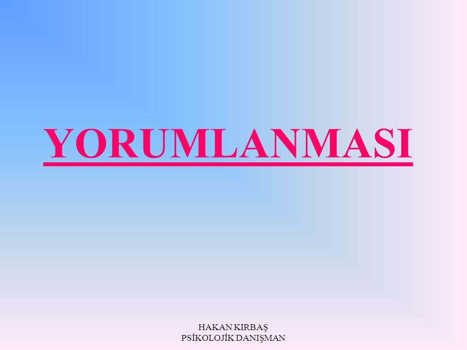 YORUMLANMASI
