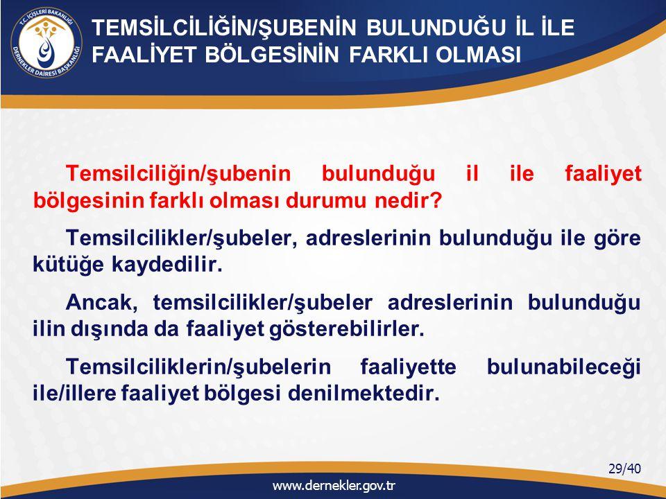 Yabancı STK'ların izin yazısında (Bakanlık İzni) geçen ''Türkiye'de temsilcilik/şube açmasına izin verilmesi'' ifadesindeki ''Türkiye'' kelimesi söz konusu yabancı STK'nın faaliyet bölgesini mi ifade etmektedir.