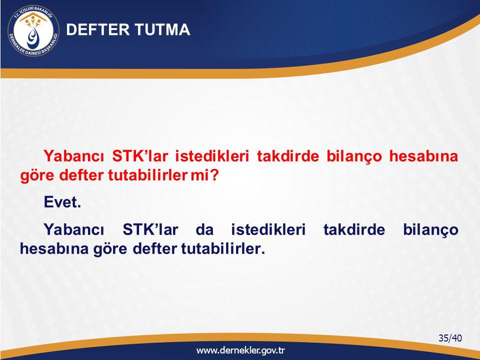 Yabancı STK'lar tutacakları defterleri Valiliklerde onaylatabilirler mi.