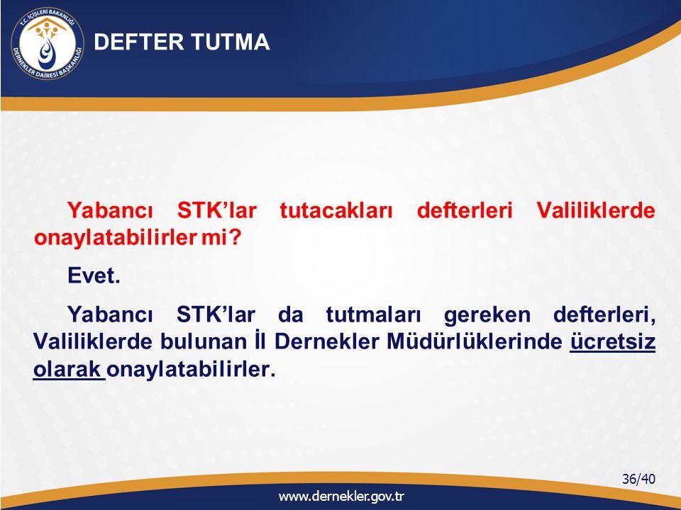 Türkiye'de faaliyet göstermesine izin verilen bütün yabancı STK'lar takip eden yılın ilk iki ayı içinde Yönetmeliğin Ek-8'inde belirtilen faaliyet bildirimini, vermeleri gerekmektedirEk-8 Yalnızca şubeler Ek-8 faaliyet raporuna ek olarak beyanname vermeleri gerekir.Ek-8 Ancak, yabancı STK'ların faaliyetleri Türkiye'de bir yıldan az süreli ise söz konusu formu faaliyet sonunda verirler.