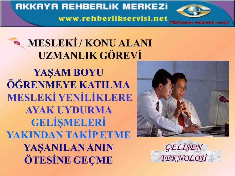 ÖĞRETMENLİK VE İŞLEVLERİ ÖĞRENME SÜRECİNE REHBERLİK ETME YARDIMCI OLMA ÖĞRENME HEDEFLERİNİ AÇIKLAMA GERÇEKÇİ ÖĞRENME AMAÇLARI OLUŞTURMA ÖĞRETME GÖREVİ Türkiyenin rehberlik servisi
