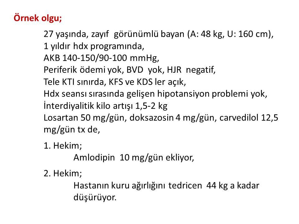 Dikkat!!! Hemodiyaliz olgularına intramuskuler ilaç uygulamalarından sakınılmalıdır.