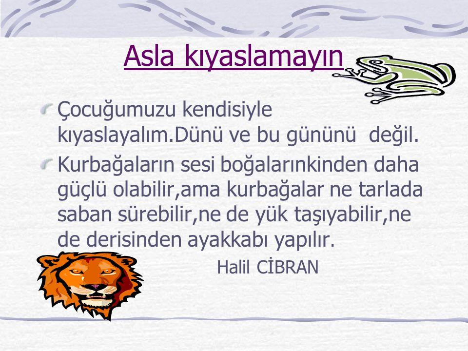 KABUL SİZDEN ŞU BEŞ MESAJI ALIRLAR.