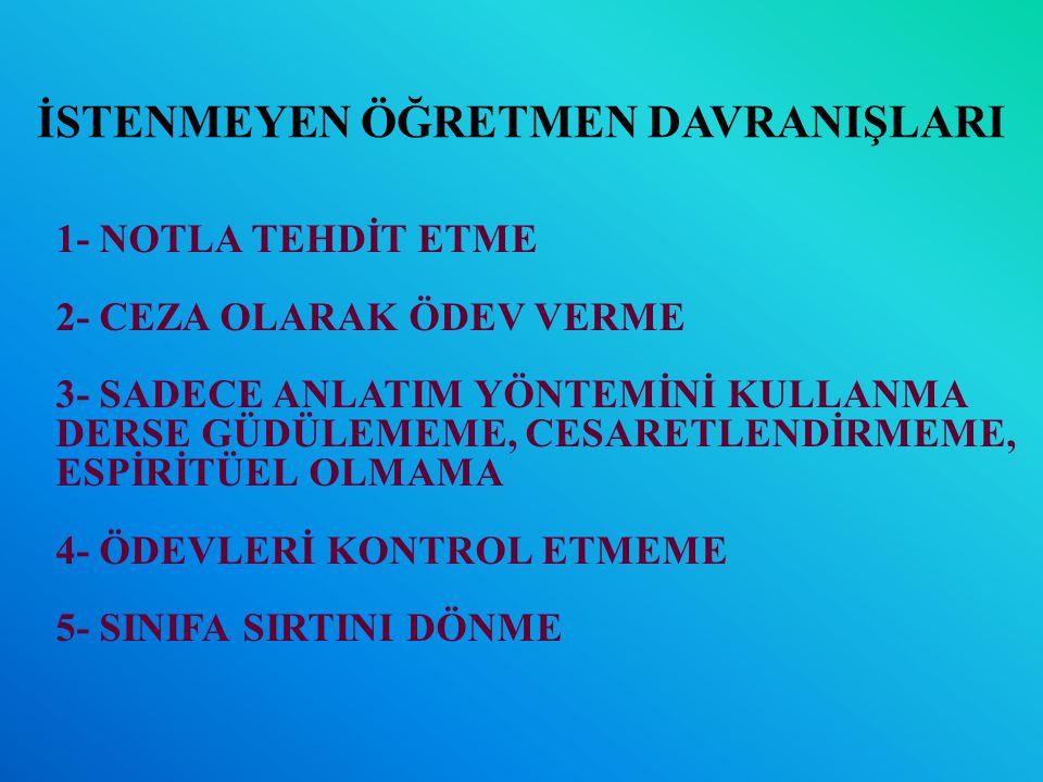 EDİLGEN DİNLEME (SESSİZLİK).