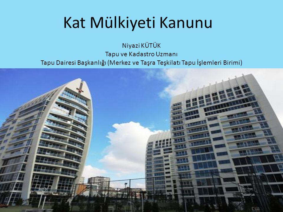 Kat Mülkiyeti – Kat İrtifakı Mimari Projenin Kat Malikine Verilmesi -Kat malikine, istem halinde, mimari projeden kendi bağımsız bölümüne ait olan kısmının tasdikli bir örneği de verilir.