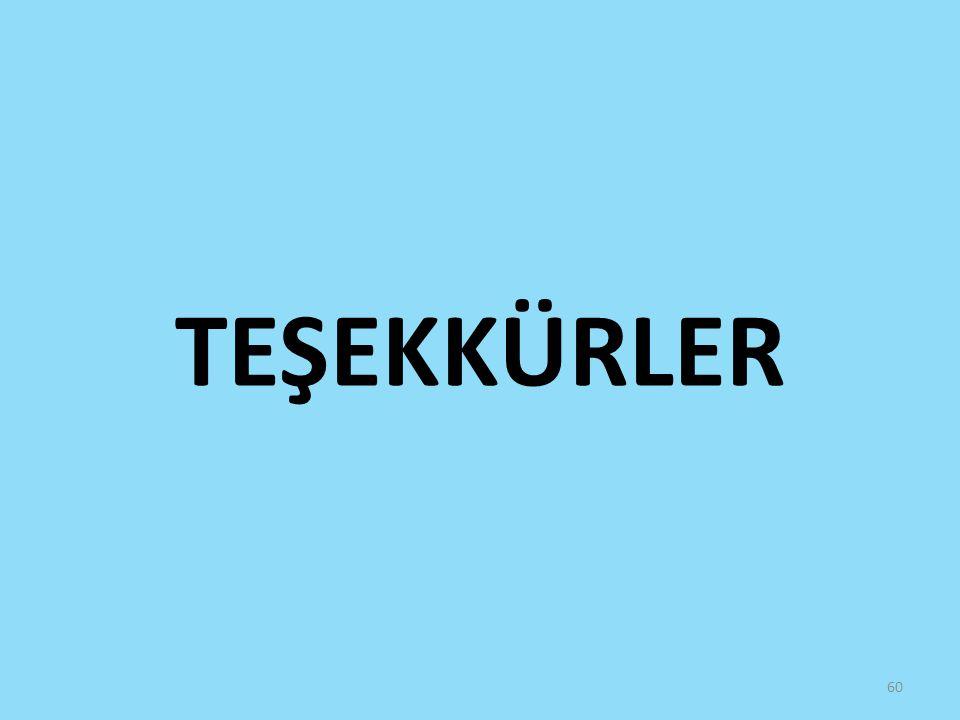 TEŞEKKÜRLER 60
