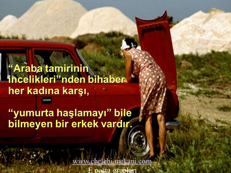 İnsanca bir gelire sahip olmayan her kadına karşı, bir başka insanın geçimini karşılama sorumluluğunu yüklenmiş bir erkek vardır. www.chelebi.mekani.c